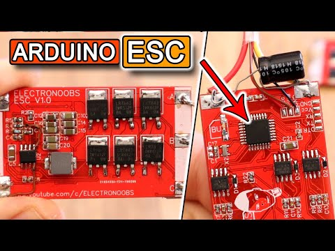 An Open Source ESC For Brushless Motors | Hackaday