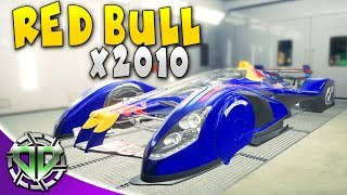 RED BULL X2010 WITH CUSTOM LIVERY : Car Mechanic Simulator 2018 Gameplay