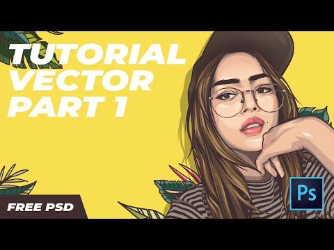 Tutorial Vector Photoshop Part 1 Free PSD
