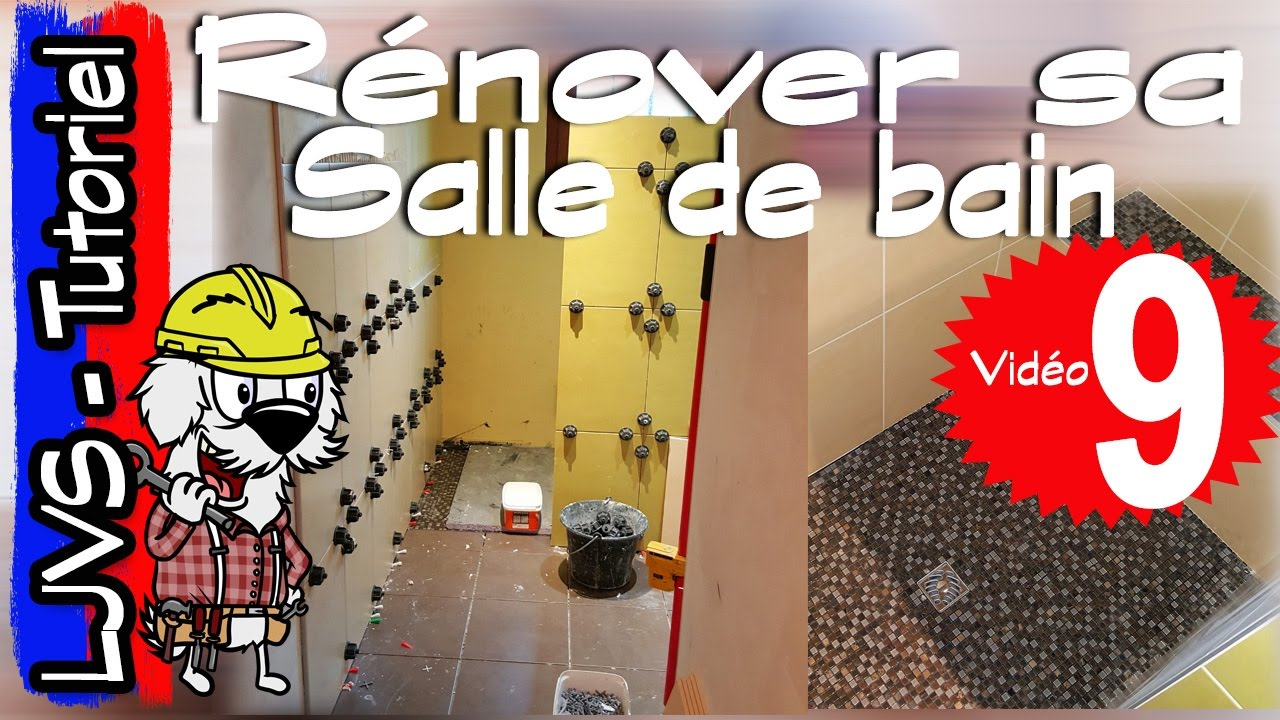 comment r nover une salle de bain partie 9 suite et fin tutoriel ljvs youtube. Black Bedroom Furniture Sets. Home Design Ideas