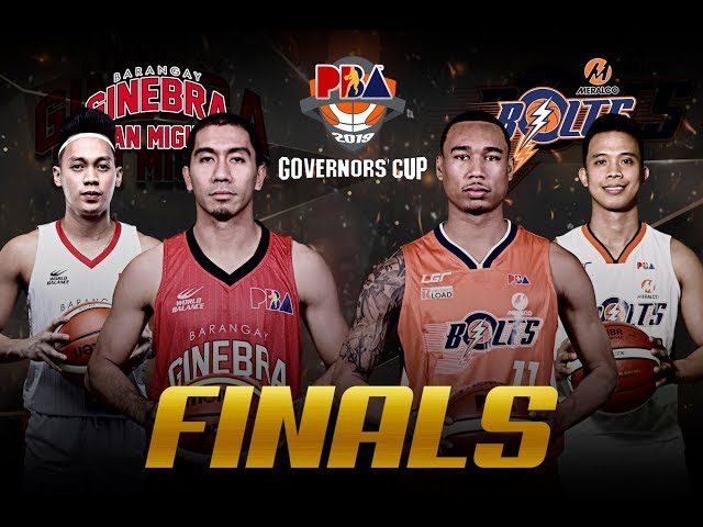 Meralco vs Ginebra | PBA Governors' Cup 2019 Finals Game 5