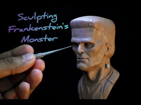 Sculpting Frankenstein's monster