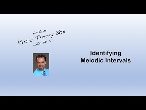 Identifying Melodic Intervals
