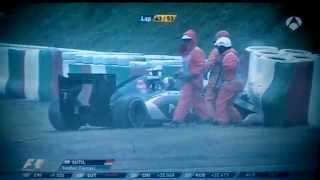 Jules Bianchi Crash Suzuka Formula 1 GP Japón | Como Ocurrió El Accidente Analisis