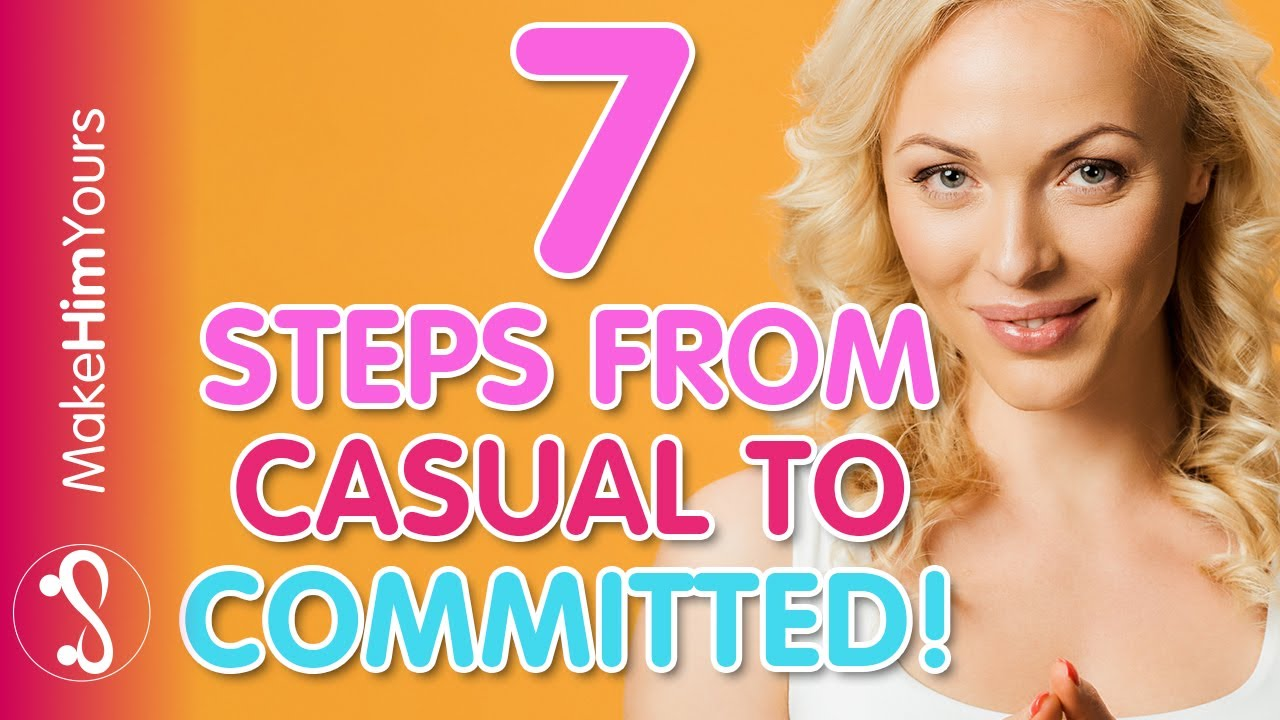 How to go from casual hookup to serious relationship