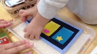 こぱんはうすさくら川口青木教室では月に1から2回モッテッソーリ教育を...