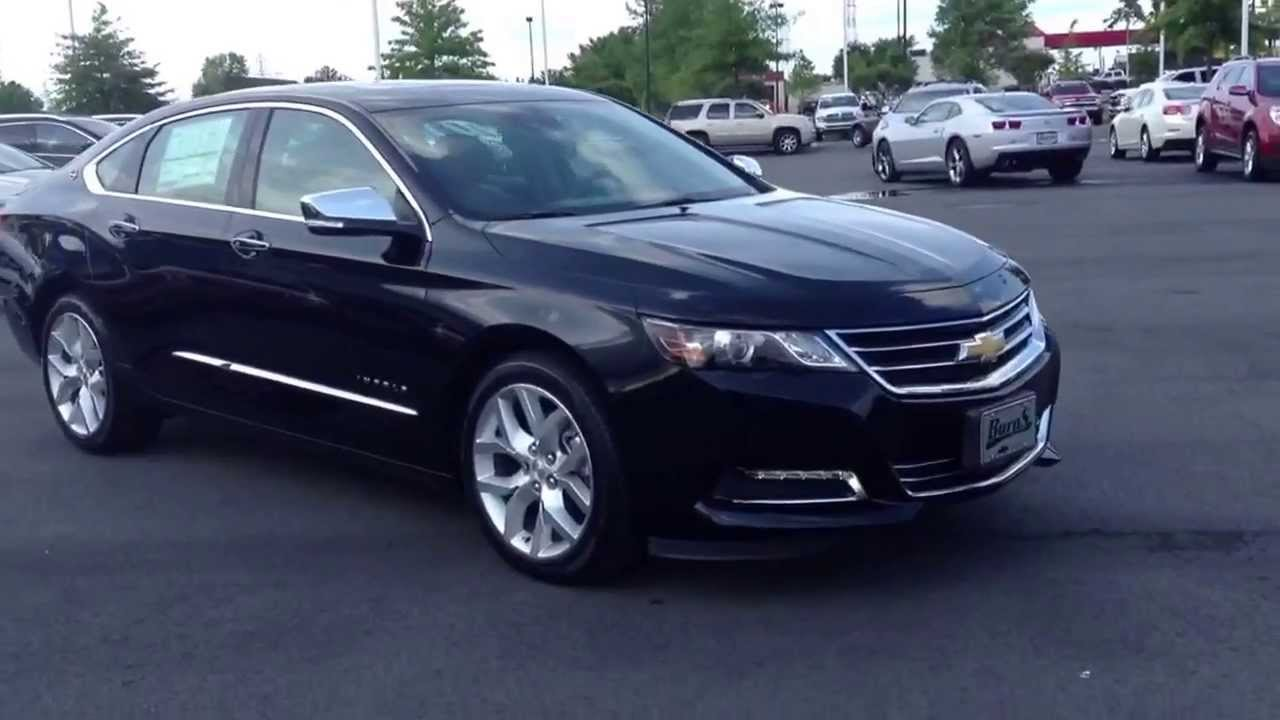 2014 Chevrolet Impala LTZ Black, Burns Chevrolet Cadillac ...