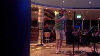 Funny Drunk Guy Sings Karaoke