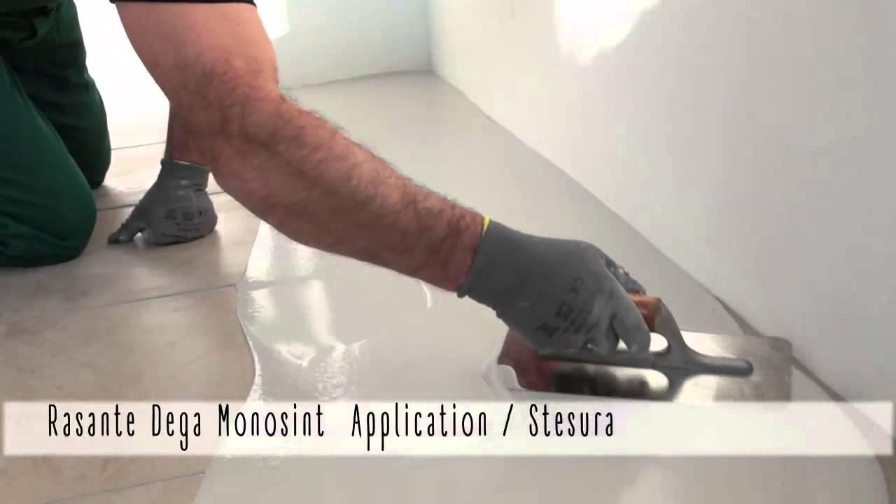 Tutorial gobbetto rasante dega monosint pavimenti in for Gobbetto resine