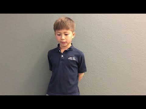 2019 03 Christopher State Report on Virginia 2nd Grade at Santa Clara Christian School