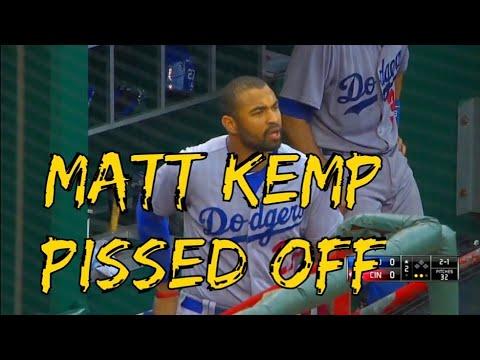 Matt Kemp Getting Pissed Off