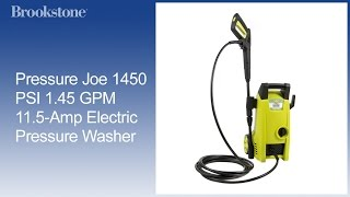 Pressure Joe 1450 PSI 1.45 GPM 11.5-Amp Electric Pressure Washer