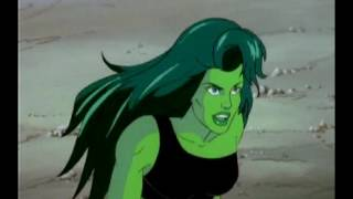 Hulk of a Different Color: She Hulk Goes after Villians