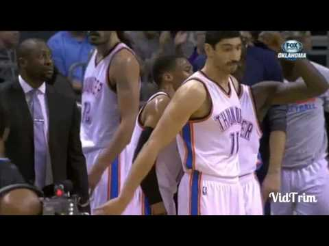 Russell Westbrook throws ball at refs head, gets technical foul