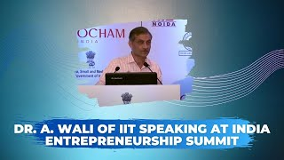 Dr  A  Wali of IIT at India