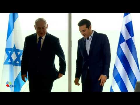 PM Netanyahu Meets with Prime Minister of Greece Alexis Tsipras