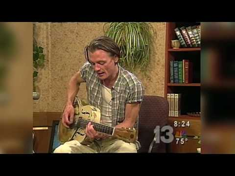 Chris Whitley local TV performance on WVTM NBC 13