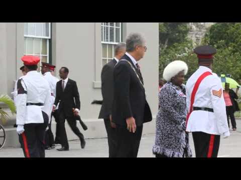 #2 Dignitaries Arrive Remembrance Day Parade Bermuda November 11 2011