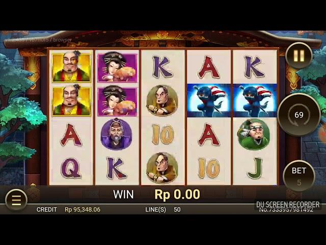 Sultan Coba Cari Uang Jajan Tambahan Dari Game Slot Ninja Rush