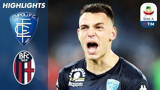Empoli 2-1 Bologna | Late Goal Snatches Victory For Hosts | Serie A