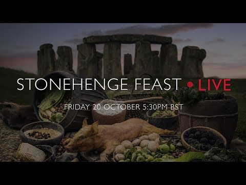 What did the Stonehenge builders eat? Feast! Livestream