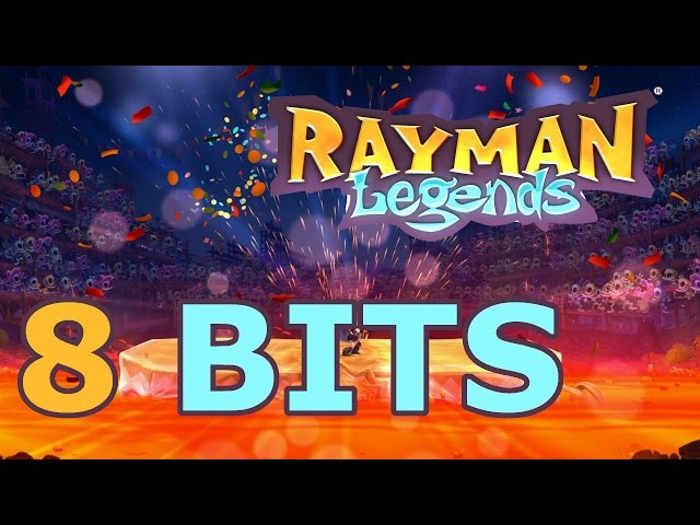 Rayman Legends - Todas as fases musicais em 8 bits (All 8 bits Musical Levels)