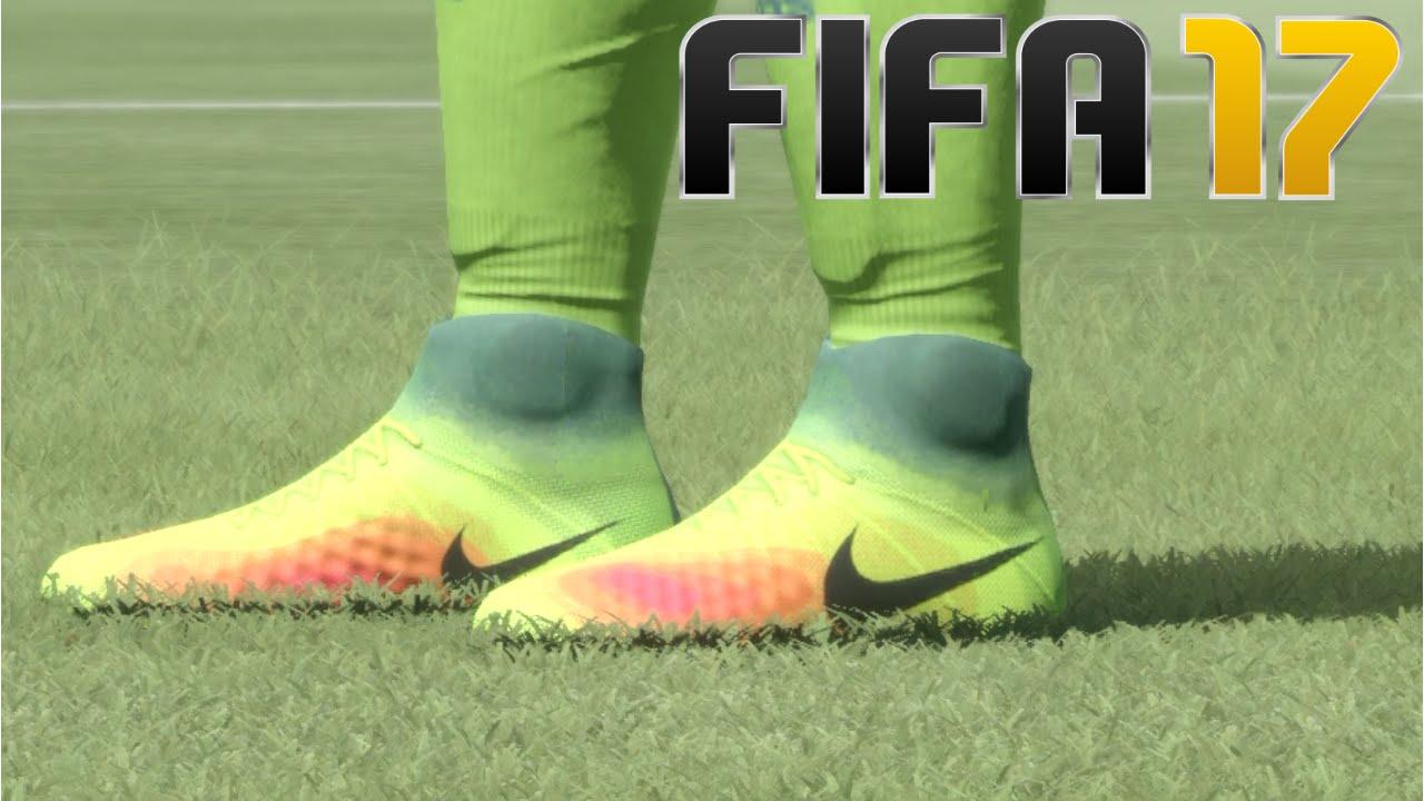 FIFA 17 mette in mostra le nuove scarpe Adidas, Puma e Nike