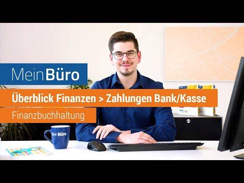 Überblick Finanzen: Zahlungen Bank / Kasse