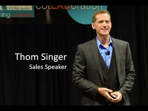 Sales Motivational Speaker - Motivate Your Team - Thom Singer