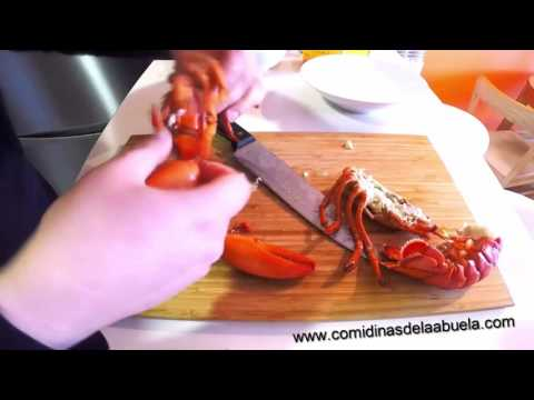 Como partir un bogavante youtube for Como cocinar un bogavante