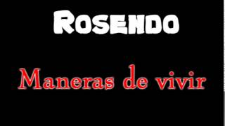 Watch Rosendo Maneras De Vivir video