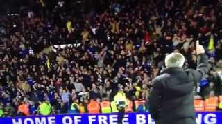 mourinho shows chelsea fans they are 1 after game vs wba