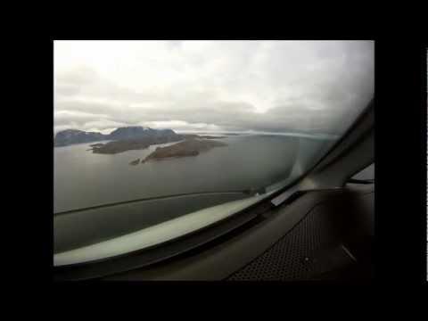 Extream short runway landing Upernavik