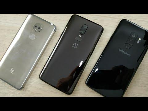 One plus 6 vs Samsung galaxy s9 Plus los mejores