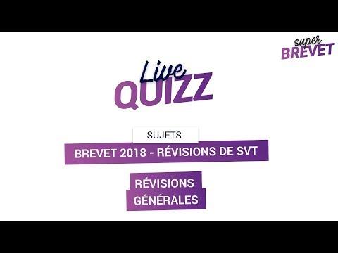Brevet 2018 - Révisions de SVT : Les notions indispensables pour l'épreuve !