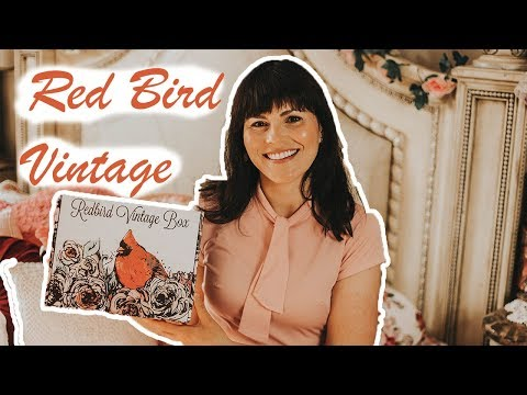 Redbird Vintage Box / July Unboxing (So much cute vintage jewellery!)