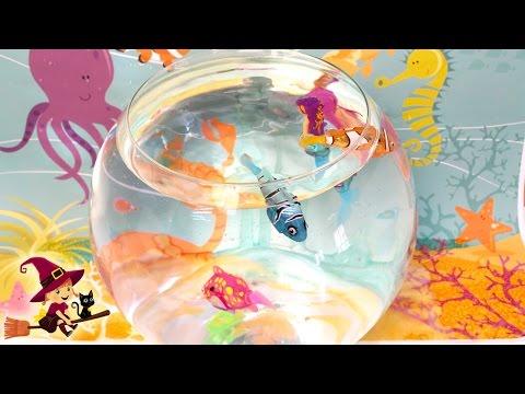 Juguetes De Youtube Y Sirenitas Interactivos Agua Peces XkiuTOPZ