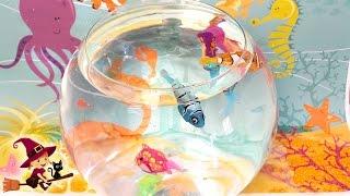 Juguetes Interactivos de Agua Peces y Sirenitas