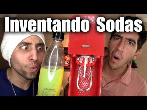 Creando Sodas de Sabores Extraños!!! (wasabi, leche, vodka, pepinillos, tabasco, soya) - ChideeTv