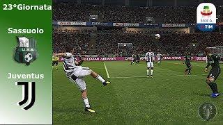 Sassuolo Vs Juventus • 23°Giornata