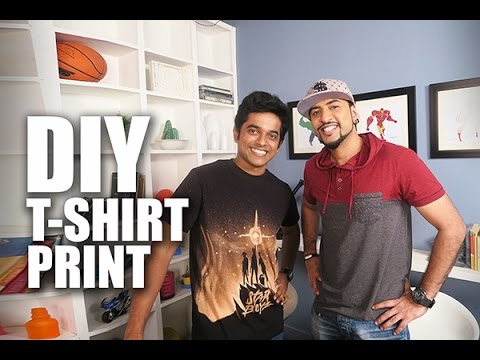 DIY T- Shirt Print | Naveen Richard | Mad Stuff With Rob