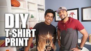 DIY T- Shirt Print   Naveen Richard   Mad Stuff With Rob