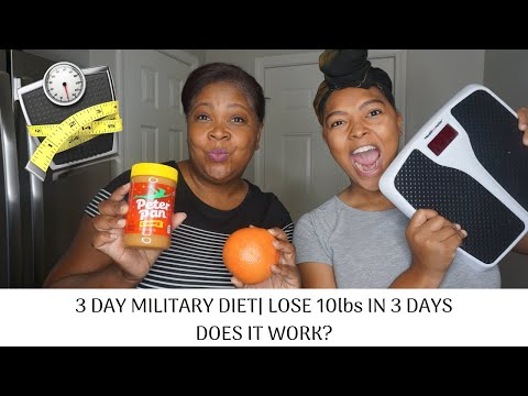 3-day-military-diet-|-lose-10-pounds-in-3-day-|-does-it-really-work??