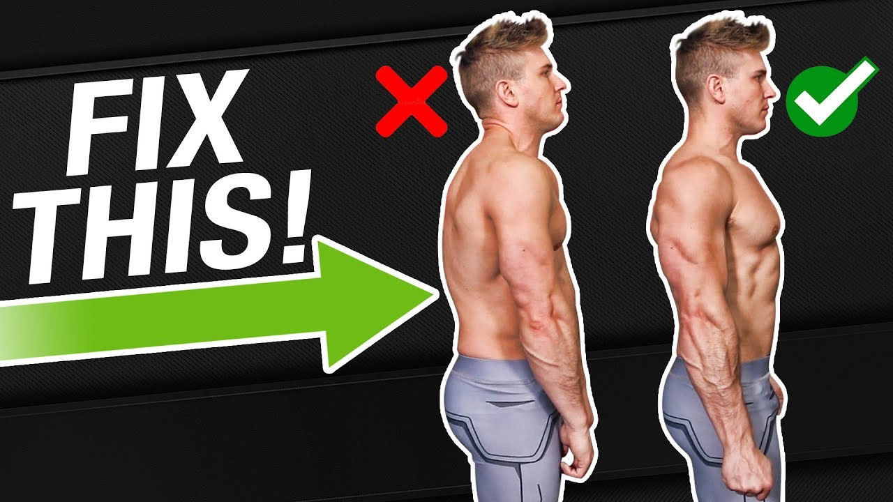 Fix Rounded Shoulders With 1 Exercise! | NO MORE NERD NECK!