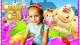 ВЕСЕЛАЯ ИГРА СЛАДОСТИ КОНФЕТЫ Candy Crush Soda Saga Android Gameplay Gummy Bears Android / iOS