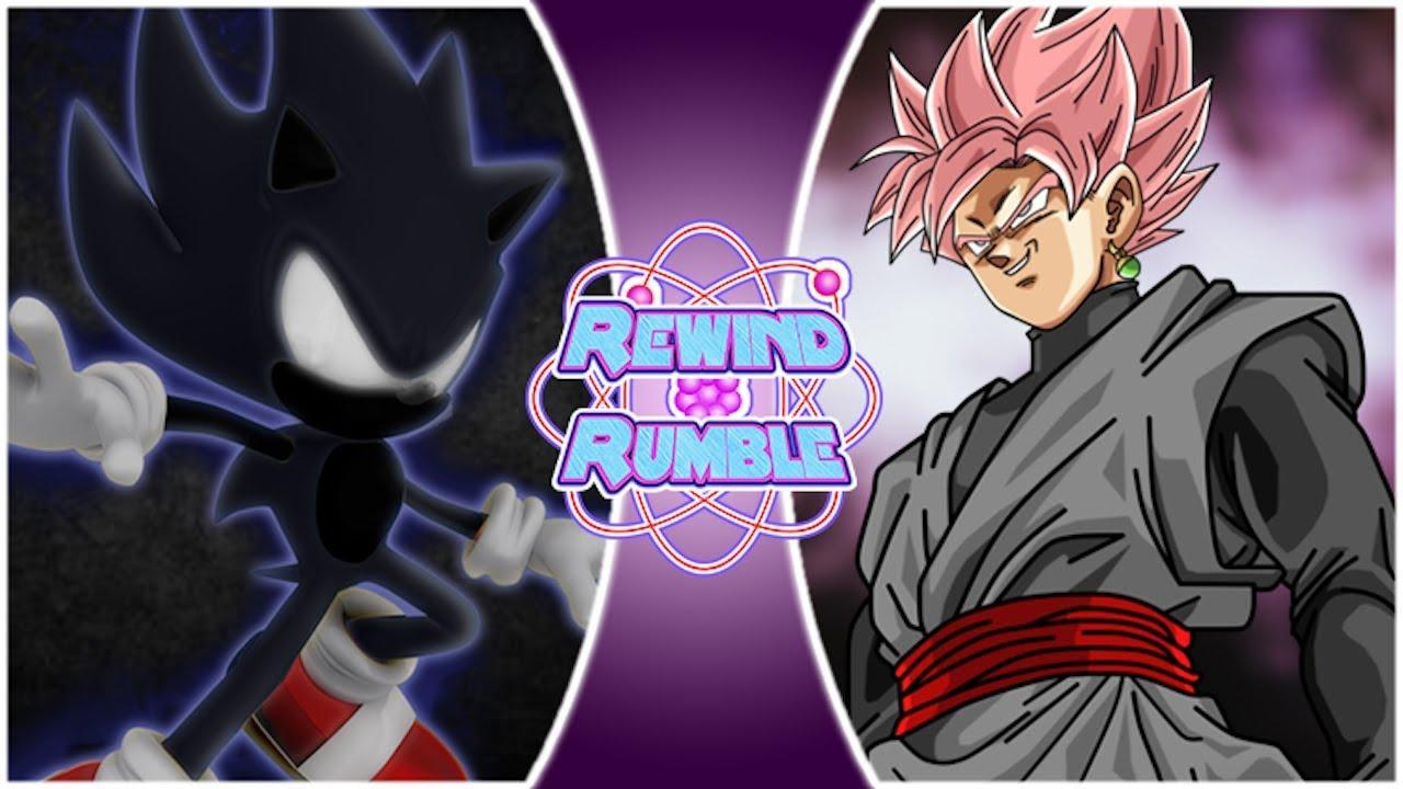 Dark Sonic Vs Goku Goku Shadow Wallpaper By Mergedzamasuva