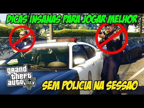 GTA 5 - DICA INSANA PARA FICAR SEM POLÍCIA NA SESSÃO PÚBLICA - SUPER FÁCIL!