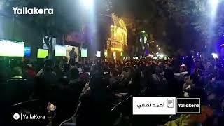 جماهير النادي الاهلي تتابع مباراته مع الهلال السوداني