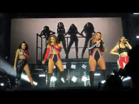 Little mix Salute/down and dirty mashup Live  5  June Denmark