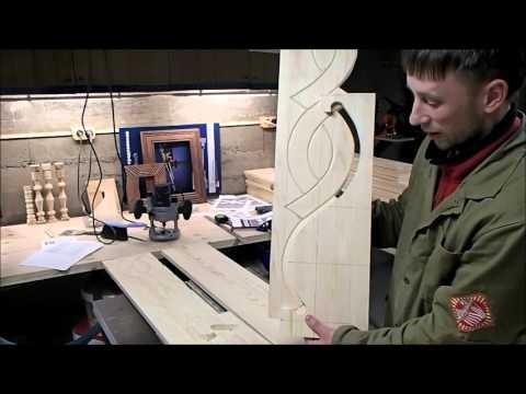 видео: Наличники-2. Боковины. Нанесение декора на деревянную заготовку по шаблону